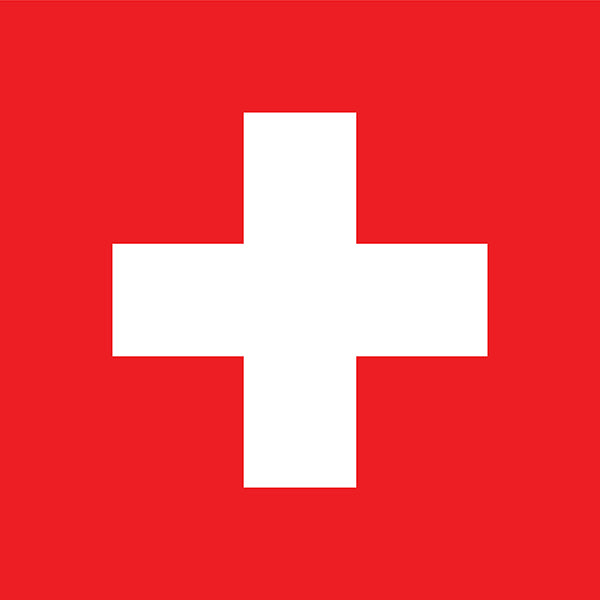 Switzerland Flag Poster