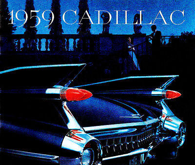 1959 Cadillac - Promotional Advertising Poster