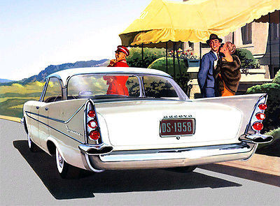 1958 DeSoto Firesweep 4-Door Sportsman - Promotional Advertising Poster