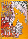Big Brother & the Holding Company - 1967 - The Ark - Concert Poster