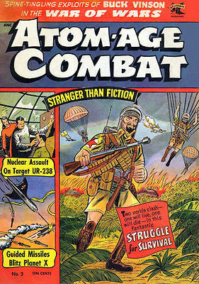 Atom-Age Combat #3 - 1959 - Comic Book Cover Poster