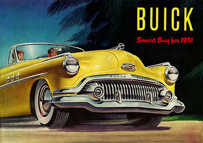 1951 Buick - Promotional Advertising Poster