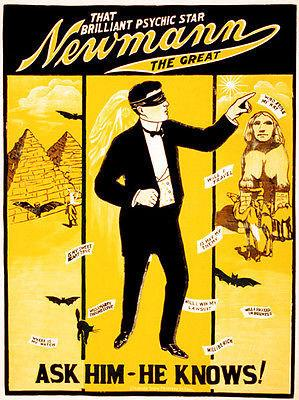 That Brilliant Newmann The Great - Show Poster Magnet