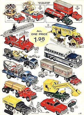 1957 Toy Truck - Promotional Advertising Poster