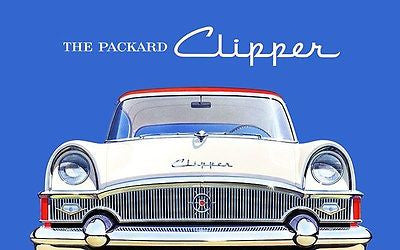 1955 Packard Clipper - Promotional Advertising Poster