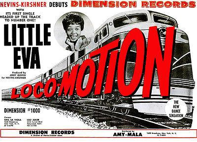 Little Eva - The Loco-Motion - 1962 - Single Release Promo Magnet