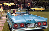 1959 Ford Thunderbird Convertible - Promotional Advertising Poster