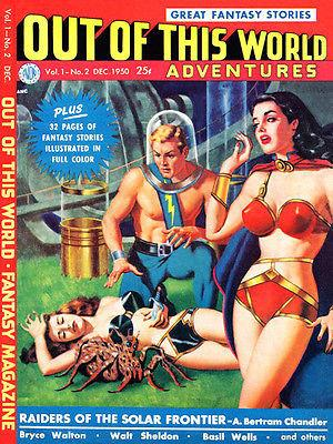 Out of This World Adventures #2 - Comic Book Cover Magnet