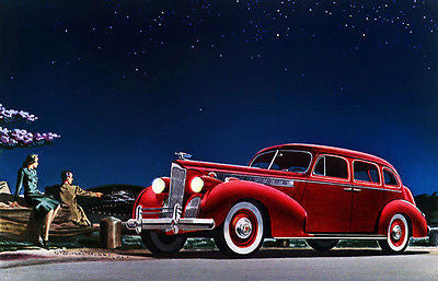 1940 Packard Super 8 One-Sixty Touring Sedan - Promotional Advertising Poster