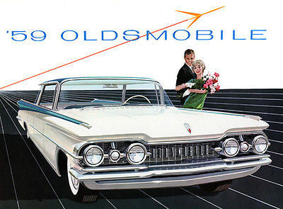 1959 Oldsmobile - Promotional Advertising Poster