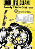The Mothers of Invention - Lonely Little Girl - 1968 - Single Promo Poster