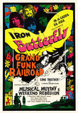 Iron Butterfly - Grand Funk Railroad - 1970 - Concert Movie Promo Poster