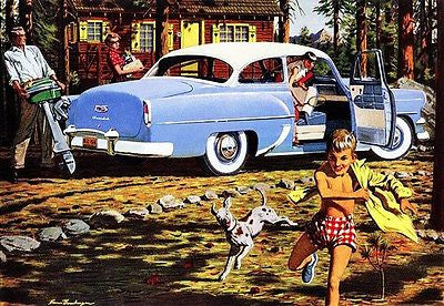 1954 Chevrolet Delray - Promotional Advertising Poster