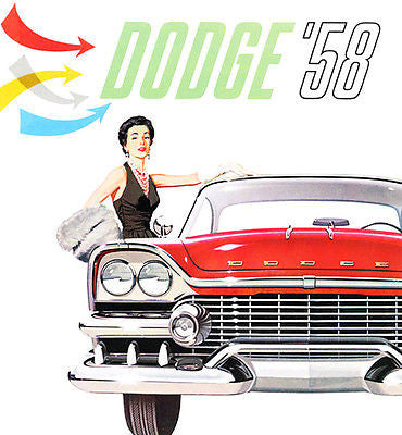 1958 Dodge Custom Royal - Promotional Advertising Poster
