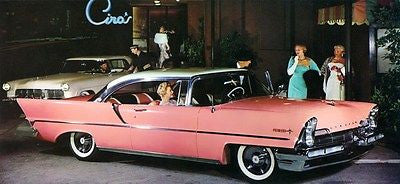 1957 Lincoln Premiere - Promotional Advertising Poster