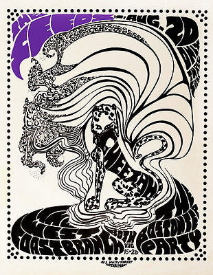 The Seeds - 1967 - Concert Poster