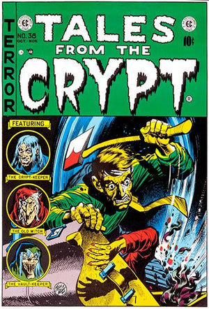 Tales From The Crypt - October November 1950 - Comic Book Cover Magnet