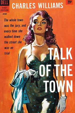 Talk Of The Town - 1958 - Pulp Novel Cover Magnet