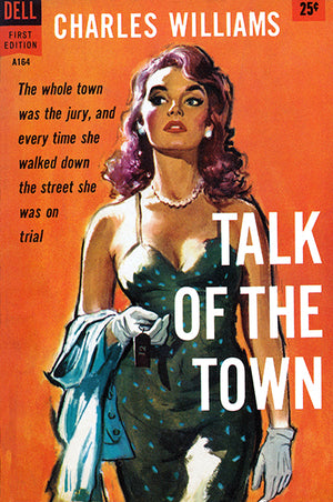 Talk Of The Town - 1958 - Pulp Novel Cover Poster