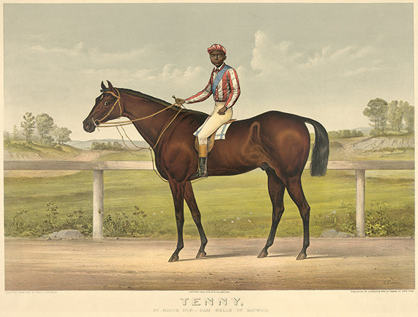 Tenny - Dam Belle Maywood - 1892 - Horse Racing Poster