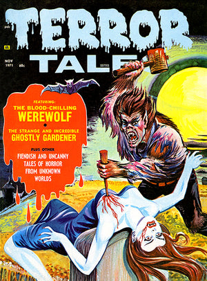 Terror Tales - November 1971 - Magazine Cover Poster