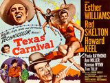 Texas Carnival - 1951 - Movie Poster
