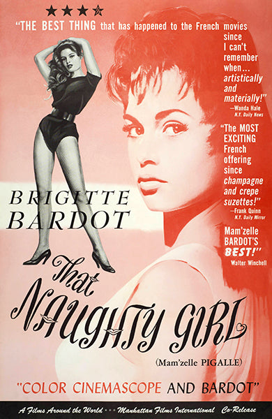 That Naughty Girl - 1956 - Movie Poster
