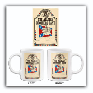 The Allman Brothers Band - 1974 - Summer Campaign - Concert Mug