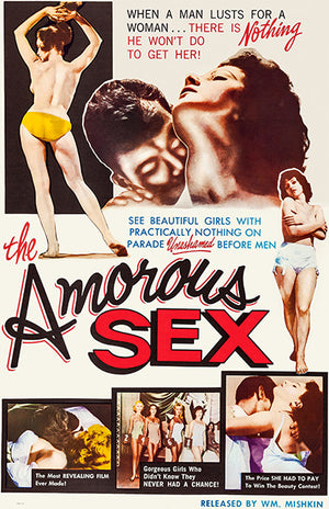 The Amorous Sex - 1962 - Movie Poster