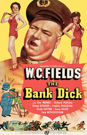 The Bank Dick - 1940 - Movie Poster