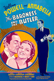 The Baroness And The Butler - 1938 - Movie Poster Magnet