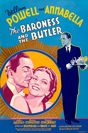 The Baroness And The Butler - 1938 - Movie Poster