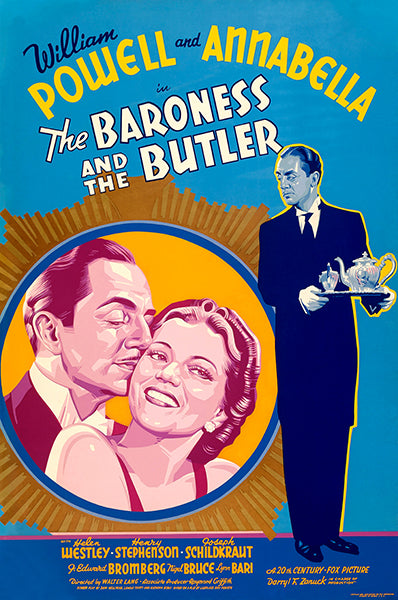 The Baroness And The Butler - 1938 - Movie Poster Mug