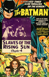 The Batman - Slaves Of The Rising Sun - 1943 - Movie Poster