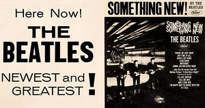 The Beatles - Something New - 1964 - US Album Release Promo Poster