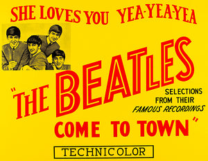 The Beatles Come To Town #2 - 1963 - Movie Poster