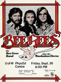 The Bee Gees - 1975 - Waterloo ON - Concert Poster