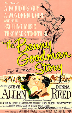 The Benny Goodman Story - 1956 - Movie Poster