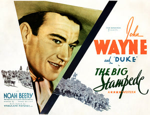 The Big Stampede - 1932 - Movie Poster