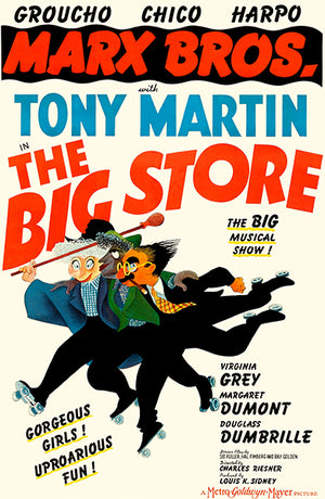 The Big Store - 1941 - Movie Poster