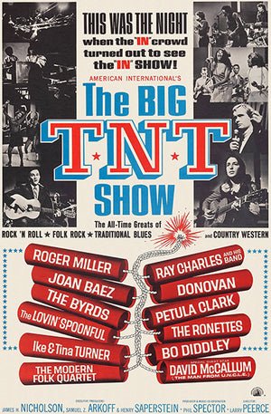 The Big TNT Show - 1966 - Concert Movie Magnet