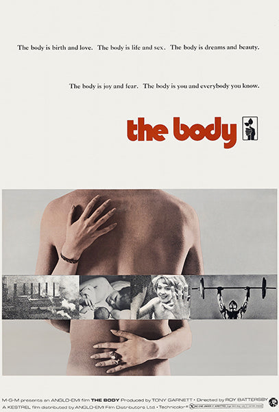 The Body - 1971 - Movie Poster