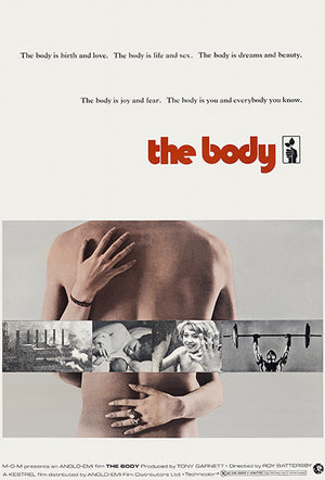The Body - 1971 - Movie Poster Magnet