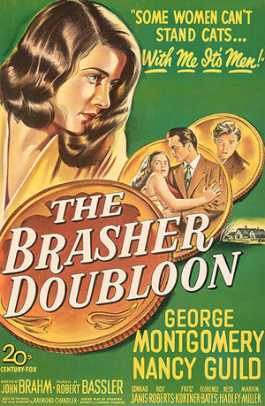 The Brasher Doubloon - 1947 - Movie Poster Magnet