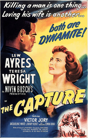 The Capture - 1950 - Movie Poster