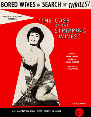 The Case Of The Stripping Wives - 1966 - Movie Poster