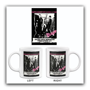 The Clash - 1977 - Electric Circus - Manchester - Concert Mug