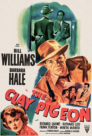 The Clay Pigeon - 1949 - Movie Poster