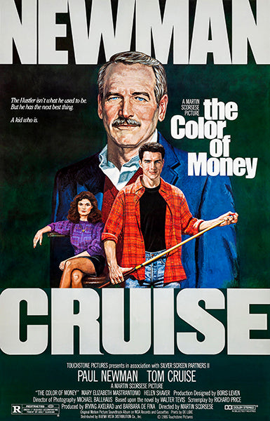 The Color Of Money - 1986 - Movie Poster