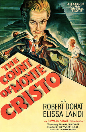 The Count Of Monte Cristo - 1934 - Movie Poster